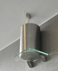 glashalterung-Solebehaelter
