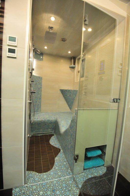 dampfbad zu hause die sch nsten einrichtungsideen. Black Bedroom Furniture Sets. Home Design Ideas