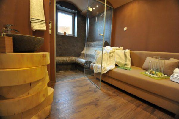 Badezimmer als Wellnessort