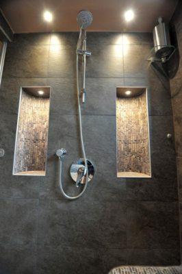 Nischen im Dampfbad