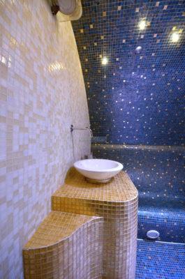 Dampfbrunnen bzw. Waschbecken