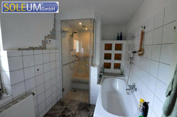 Dusche mit Duschsitz T75