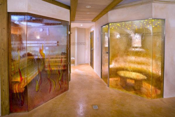 Private Wellnessoase mit Sauna und Dampfbad